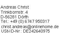 Impressum von GuenstigeHaftpflichtversicherungen.de